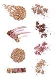 Powder liquid make up beauty stock images