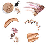 Powder liquid make up beauty Royalty Free Stock Photo
