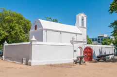 Powder magazine in Stellenbosch stock image