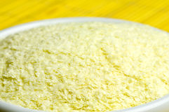 Powder for mashed potatoes Stock Image
