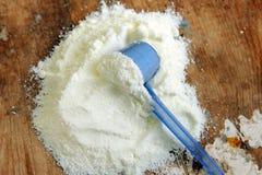 baby powder formula milk  Royalty Free Stock Images