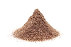 Powder milled copper isolated Royalty Free Stock Image