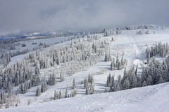 Powder Mountain, Utah Royalty Free Stock Photography