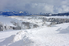 Powder Mountain, Utah Stock Photos