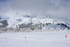 Powder Mountain, Utah Royalty Free Stock Photo