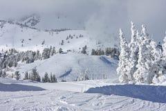 Powder Mountain, Utah Stock Photo