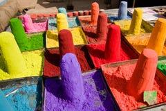 Powder pigments Stock Photos