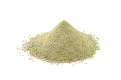 Powder refractory clay Royalty Free Stock Photo