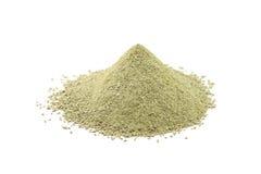 Powder refractory clay Royalty Free Stock Photo