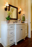 Powder room. In luxury home Stock Photos
