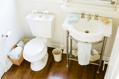 Powder room Royalty Free Stock Image