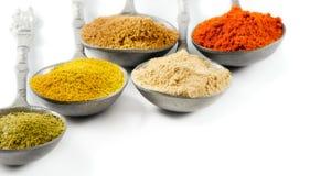 Powder spices Stock Photo
