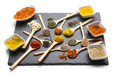Powder spices Royalty Free Stock Images