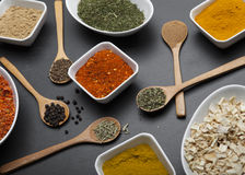 Powder spices Royalty Free Stock Photo
