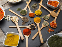 Powder spices Royalty Free Stock Photography