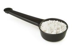 Powder spoon Stock Photo