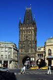 Powder Tower. The Powder Tower in Prague, Czech Republic Stock Photography