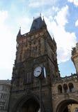 Powder Tower or Powder Gate in Czech Republic Europe Stock Photo