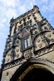 The Powder Tower or Powder Gate in Prague Stock Photos