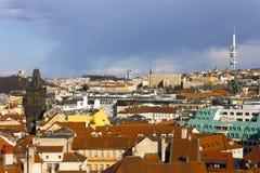 The Powder Tower or Powder Gate in Prague Royalty Free Stock Image