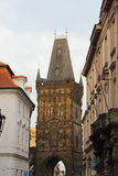 Powder tower, Prague Stock Image