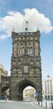 Powder Tower in Prague Stock Image