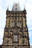 Powder tower, Prague Stock Photography