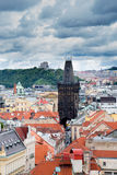 Powder tower, Prague. Royalty Free Stock Image