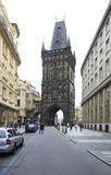Powder Tower in Prague. Stock Photography