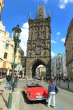 Powder tower in Prague Stock Images