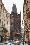 Powder Tower in Prague. Royalty Free Stock Image