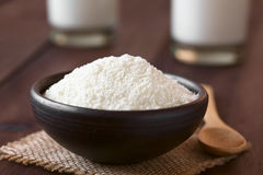 Powdered or Dried Milk Royalty Free Stock Photos
