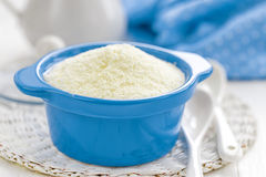 Powdered milk Royalty Free Stock Photography