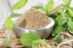 Powdered Sage Stock Photos