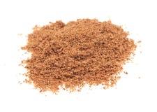 Powdered spice on white background Stock Photo