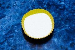 Powdered sugar closeup. Stock Image