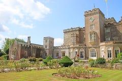 Powderham Castle, Devon. Powderham Castle fortified manor in Devon Royalty Free Stock Image