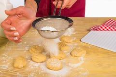 Icing sugar Stock Photography