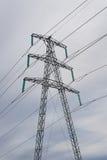 Powe line mast Royalty Free Stock Photo