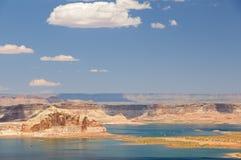 powell озера Стоковое Изображение RF