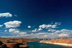 powell озера Стоковая Фотография