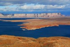 powell полуострова озера Стоковая Фотография