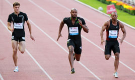 POWELL Asafa (STÖRUNG) Stockfotos