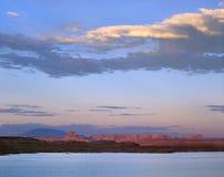 powell de lac photographie stock