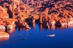 Powell lake Royalty Free Stock Photography