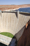 Powell Lake Dam Royalty-vrije Stock Foto's