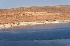 Powell Lake Dam Royalty-vrije Stock Afbeelding