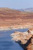 Powell Lake Dam Stock Foto