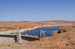 Powell Lake Dam Stock Afbeelding