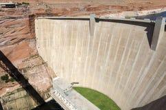 Powell Lake Dam Stock Image